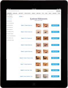 the how to page on eyebrowz.com