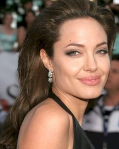 Eyebrows inspired by this image of Angelina Jolie