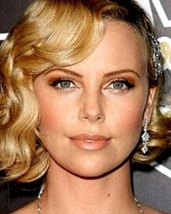 charlize theron eyebrow