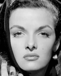 eyebrows inspired by this image of jane russell