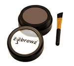 eyebrow powder for brunettes with brush