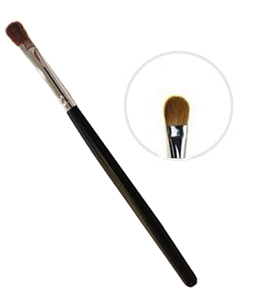 powder puff brush for eyebrows