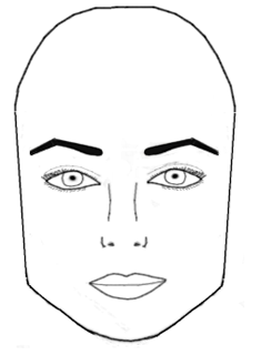 Perfect Eyebrows For The Square Face Shape