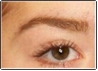 lighten eyebrow after